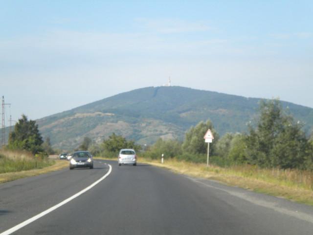 Las montañas de la región de Tokaj