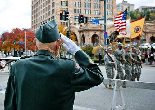A Veteran's salute