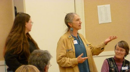 Michelle Cunha and Sherry Gould describe Occupy Manchester and Occupy Concord