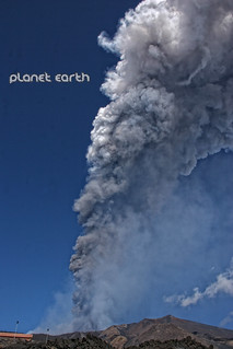 Etna - 18th Paroxysm  .... ash and plume