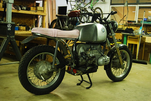 r80 scrambler build by crowe customs