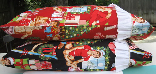 Katy's Christmas Pillow Cases