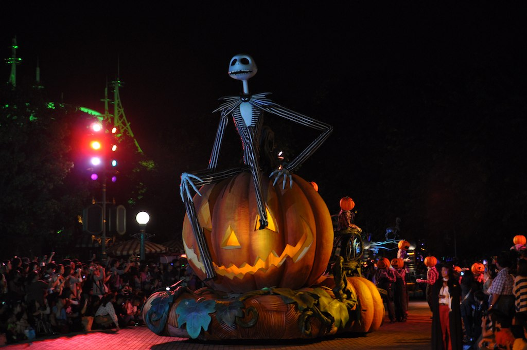 Hong Kong Disneyland Halloween