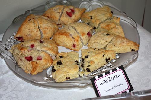 British-scones