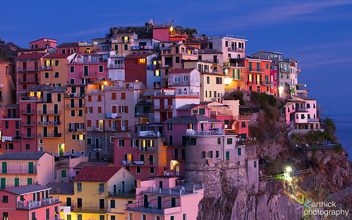 Colorful Manarola
