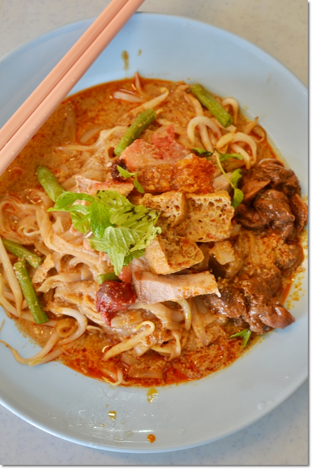 Dry Curry Noodle