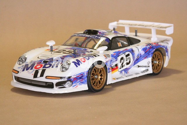 tamiya rc 1 10 porsche 911 gt1 ta03r s explore rc world ra flickr photo sharing. Black Bedroom Furniture Sets. Home Design Ideas