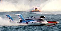aircraft(0.0), aviation(0.0), airplane(0.0), sailing(0.0), inflatable boat(0.0), windsurfing(0.0), vehicle(1.0), sports(1.0), sea(1.0), powerboating(1.0), f1 powerboat racing(1.0), motorsport(1.0), boating(1.0), motorboat(1.0), boat(1.0),