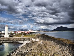Akranes from old Lighthouse