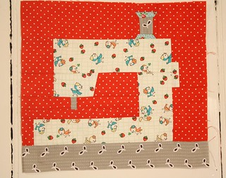 Paper Pieced Sewing Machine
