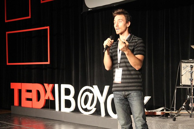 Film-maker Rob Stewart at TEDxIB@York