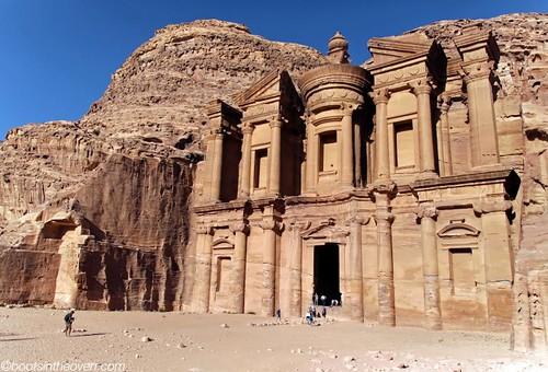 The Monastery - it's bigger than the Treasury!