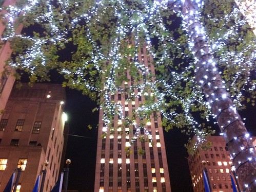 Lights at Rockefeller Center