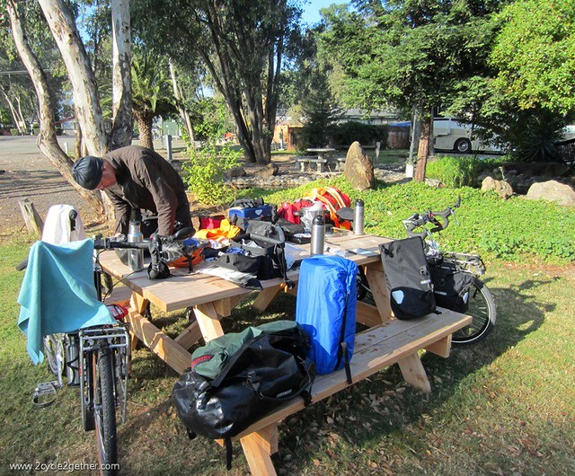 Vacaville, CA campsite