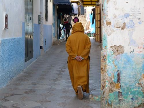 Calle de Asilah (Marruecos)