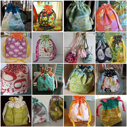 Lined Drawstring Bags! by jenib320