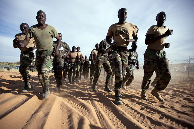 Senegalese Peacekeepers Train in North Darfur