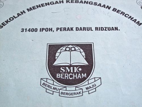 IMG_0503 Badge , SMK Bercham , Ipoh