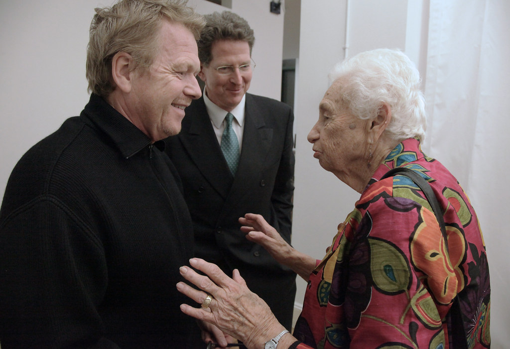 Michael Van Velkenburgh, AAP NYC Executive Director Bob Balder, and Marianne Goldsmith,