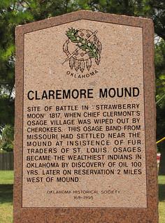 Claremore Mound