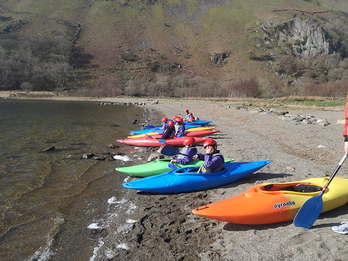 key stage 3 kayaking snowdonia school trip
