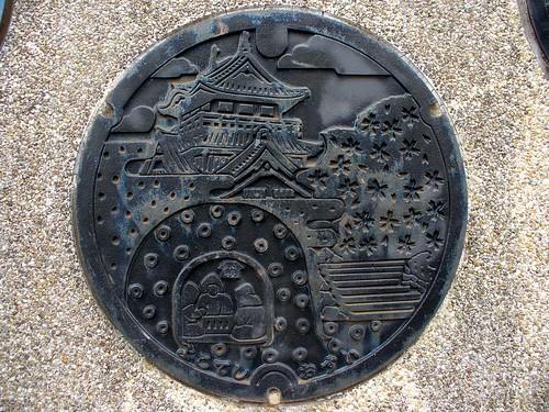 Yokote Akita manhole cover(秋田県横手市のマンホール)