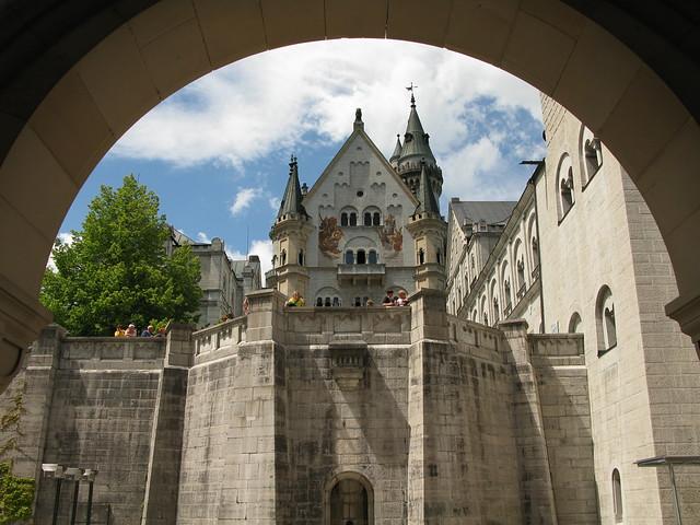 El Castillo de Neuschwanstein, Baviera, Alemania.