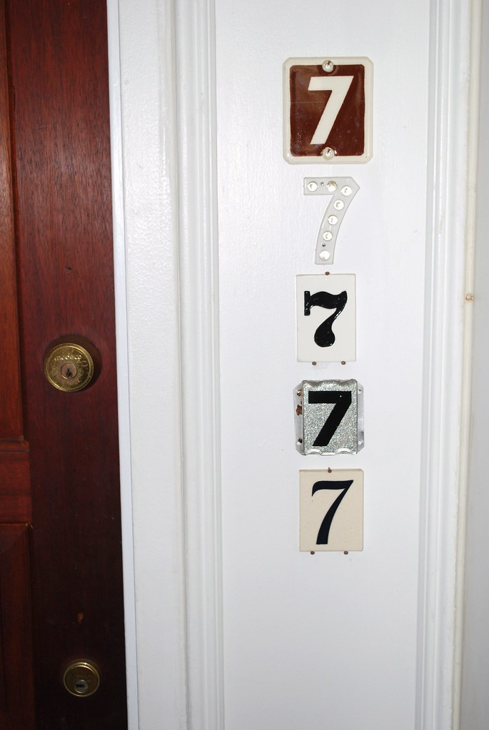 Apartment Door Numbers | Jeff Hart | Flickr