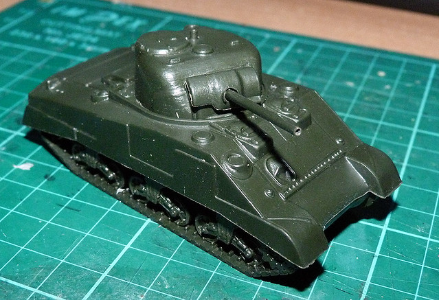 Armourfast 1:72 M4 Sherman - test construction