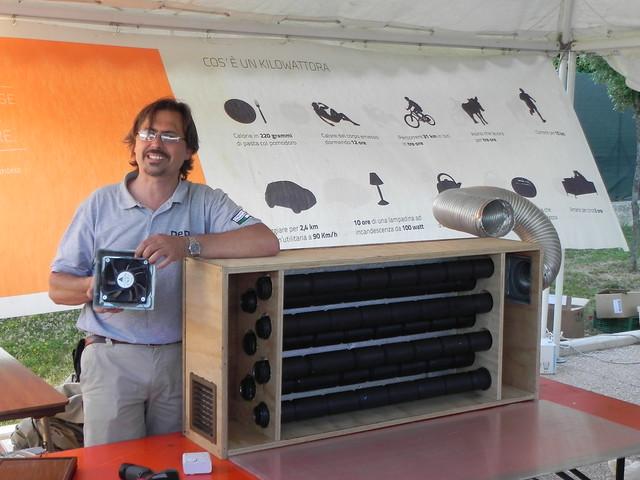Pannello Solare Aria Calda : Per laboratorio sul pannello ad aria calda alessandro