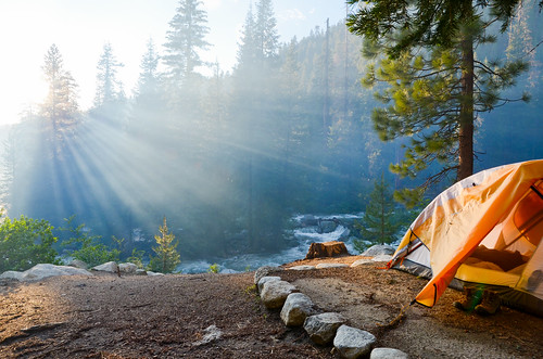 park camping sunset camp mist forest sunrise giant nikon tent canyon kings national nikkor sequoia rei lodgepole d7000