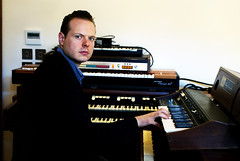 electronic device, musician, pianist, piano, musical keyboard, keyboard, organist,