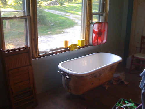 new bathtub!