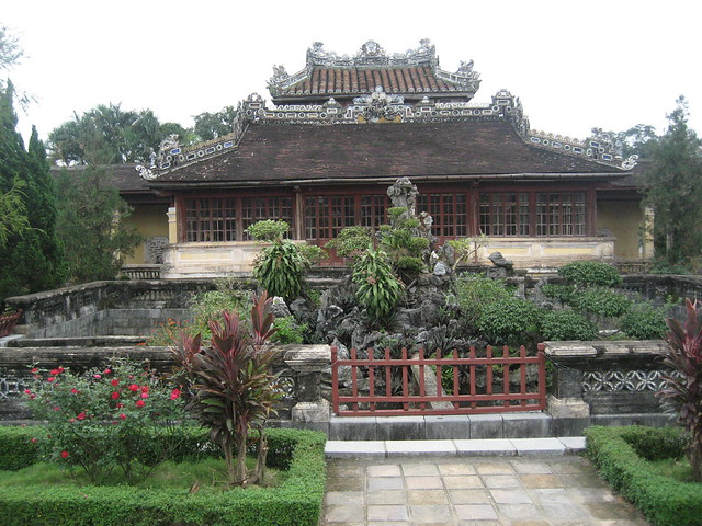 Hué, Citadel, Imperial Enclosure, Emperor's Reading Room