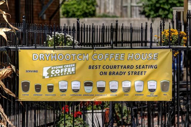 Dryhootch Coffee Chart