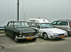 Peugeot 404, 1960, Amsterdam, Nieuwe Hemweg, 09-2010