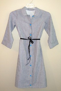 Full Placket Jump Rope Dress