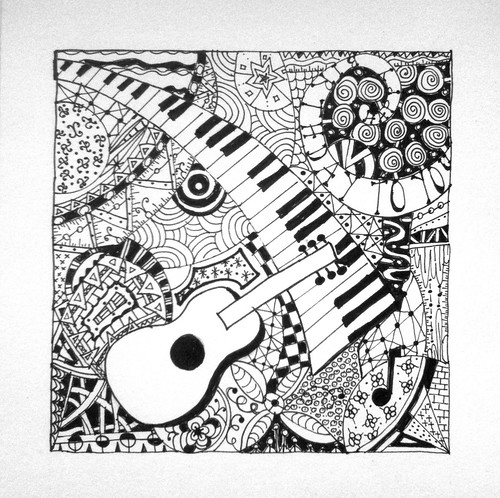 Musical Zentangle