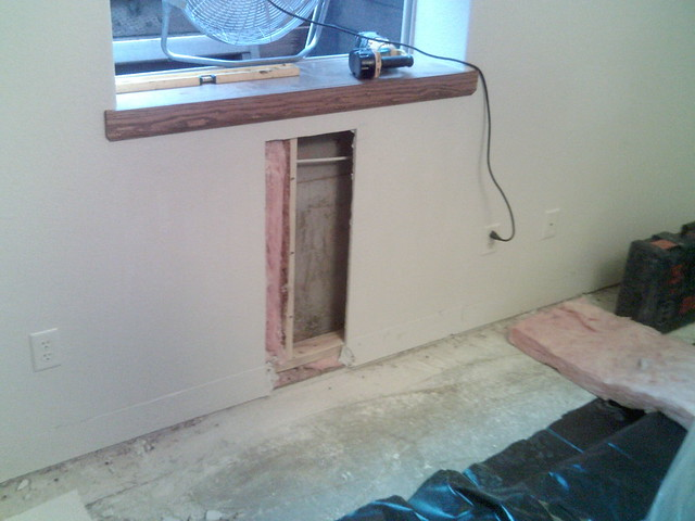 leaky basement window well repair flickr photo sharing