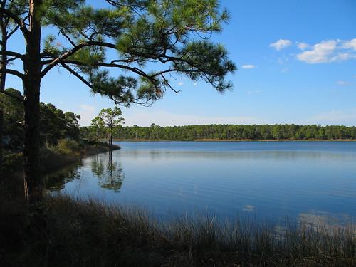 lake florida panamacitybeach powelllake dunelake camphelenstatepark