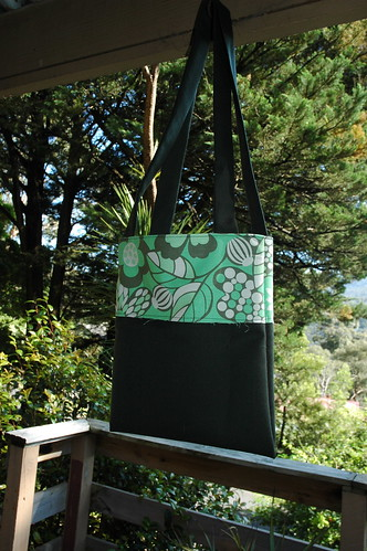 Green Retro Bag