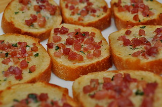 roasted-pancetta-and-herb-butter-crostini