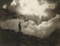 Nebelwolken, 1905, by Eduard Lankes