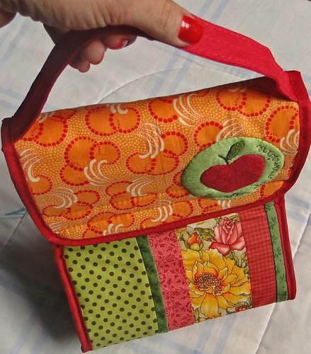Bolsa Lancheira De Tecido : Bolsas bolsinhas bols?es sala da la