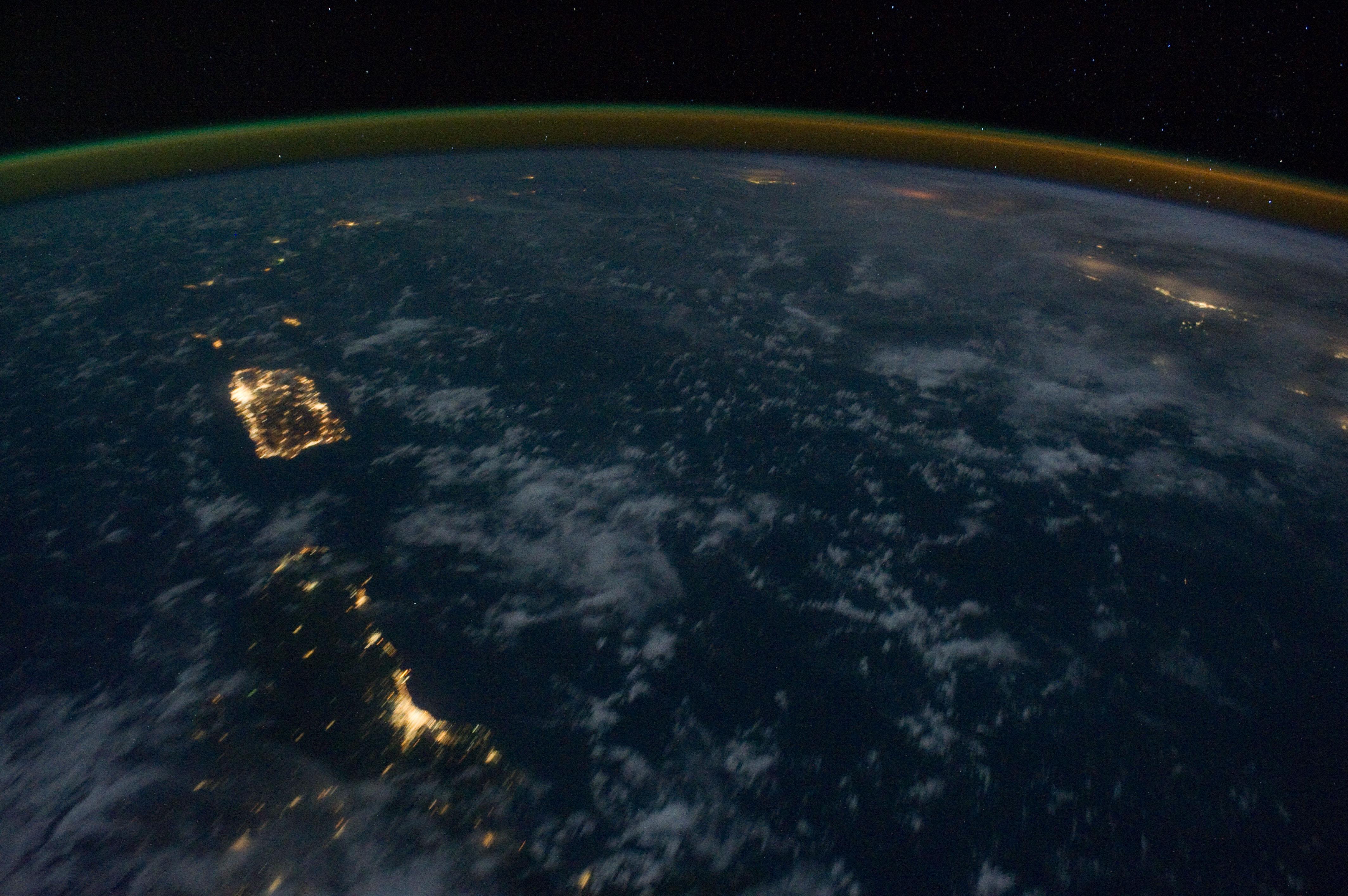nasa world at night - photo #24