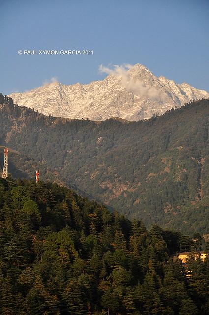 Dhauladhar Himalayas in Dharamsala, India