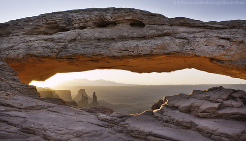 The Washer Woman, The Monster, and Airport Tower - Canyonlands National Park