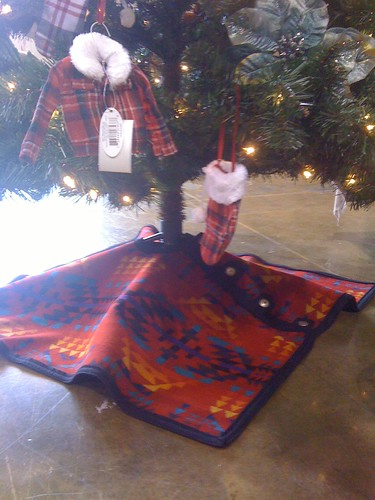 Holiday Tree Poncho