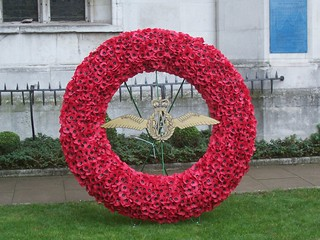 RAF Wreath, 83rd Field of Remembrance, Westminster Abbey, London