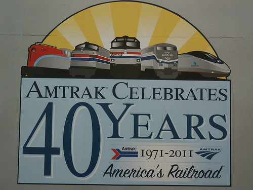 Celebrating 40 Years of Amtrak!